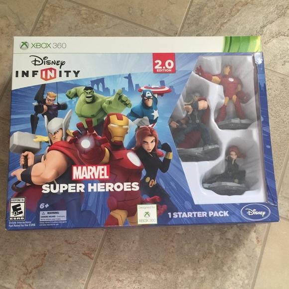 Disney Infinity 2.0 Avengers Starter Pack